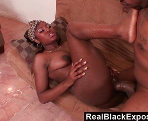 RealBlackExposed - His Mutant Cock