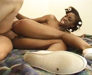 Big Tit Black Chick Gets Fucked