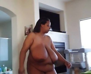 Married Black BBW Caught Walking