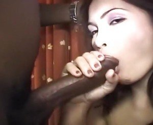 Asian hottie and her black lover