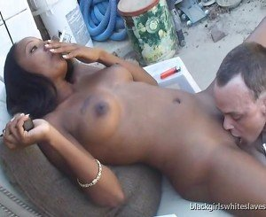 white slave for smoking ebony