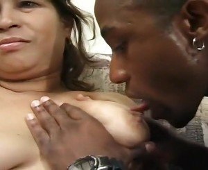 Latina Granny Estella Gets Done