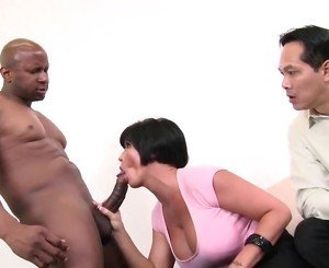 Shay Fox Fucks Black Cock While Guy